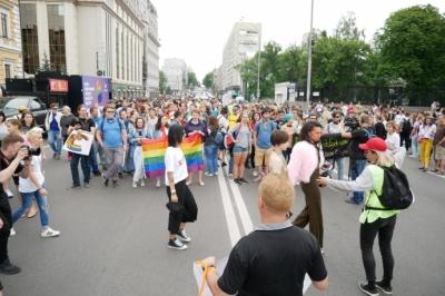 Поліція: У Києві на Марш рівності вийшло 3,5 тисячі осіб