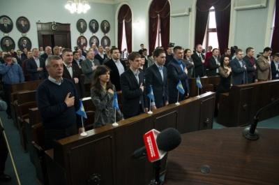 Стало відомо, хто з депутатів голосував за подолання вето Каспрука на рішення про склад виконкому