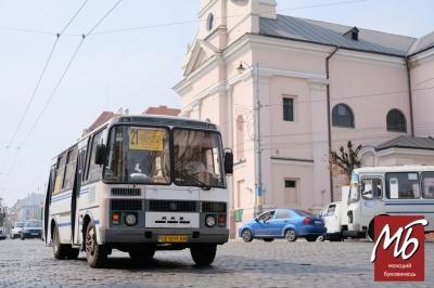 У Чернівцях сьогодні змінюється рух маршруток: детальна схема