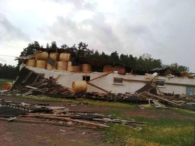 Польщу накрив потужний шторм: одна людина загинула, є поранені