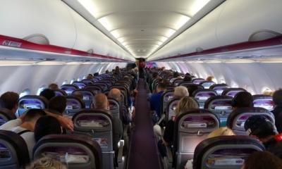 Wizz Air скасував можливість безкоштовного перевезення ручного багажу