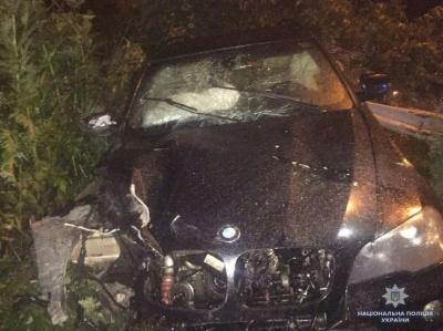 На Буковині BMW X5 з'їхав з траси у кювет: водій загинув - фото