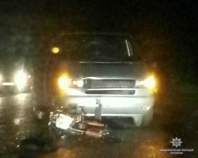 У Чернівецькій області мотоцикліст травмувався у ДТП з «бусом» - фото