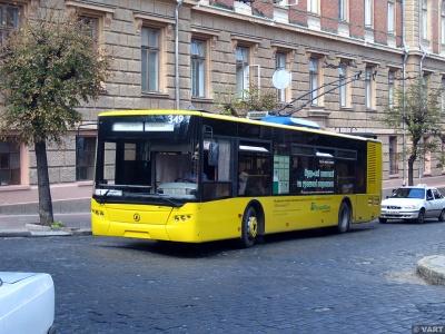 Проїзд у тролейбусах в Чернівцях подорожчає з серпня