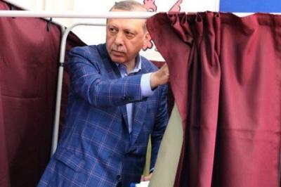 Ердоган перемагає на виборах у Туреччині