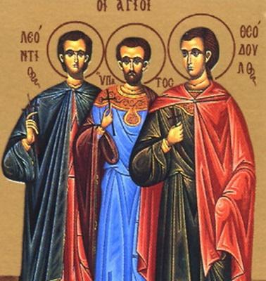 30 червня за церковним календарем - мучеників Мануїла, Савела та Ісмаїла