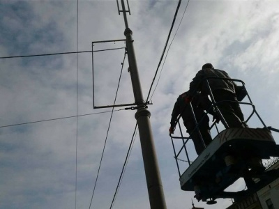 У Чернівцях хочуть заборонити рекламу на розтяжках та електроопорах
