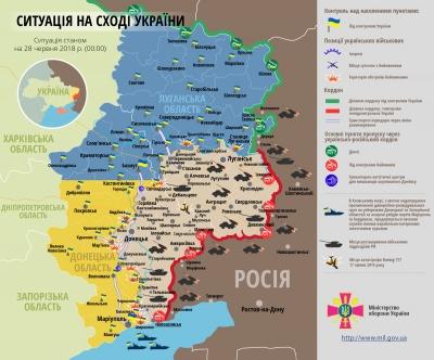 """ООС: В районі шахти """"Південна"""" загинули двоє військових"""