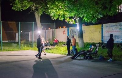 На Буковині відбувся нічний турнір зі стрітболу