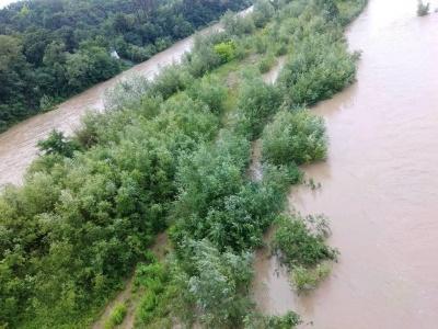 Штормове попередження. 1 липня у Чернівцях очікується чергова хвиля дощового паводку