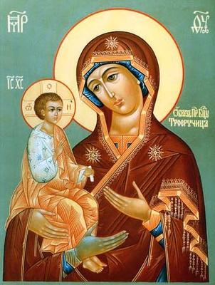 """11 липня за церковним календарем - ікони Божої Матерi """"Троєручиця"""""""