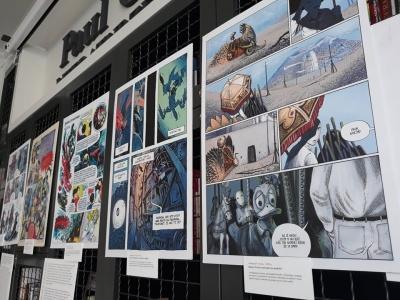 У Чернівцях відкрили виставку сучасних коміксів - фото