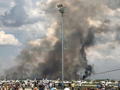 У Румунії на авіашоу впав винищувач