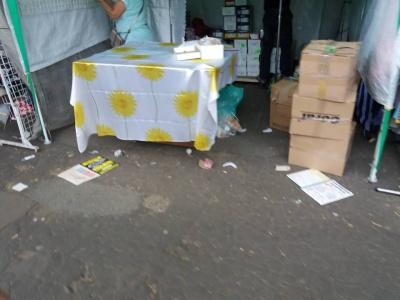 Петрівський ярмарок: гості свята у Чернівцях залишили за собою гори сміття - фото