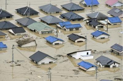 У Японії внаслідок повені загинули 70 осіб
