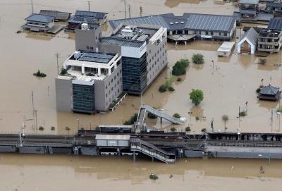 Кількість жертв повені у Японії збільшилися до 85