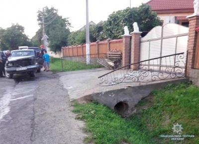 У Магалі п'яний водій «Мерседеса» врізався в бетонний міст