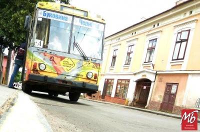 У Чернівцях завтра запустять новий тролейбусний маршрут №8: як він курсуватиме