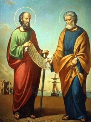 12 липня за церковним календарем - Петра та Павла