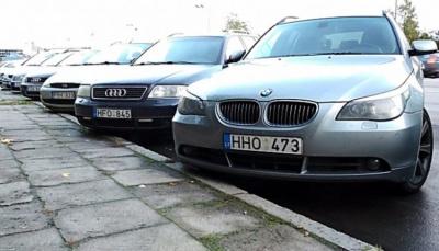 """ДФС порахувало кількість авто на """"євробляхах"""", які перебувають в Україні незаконно"""