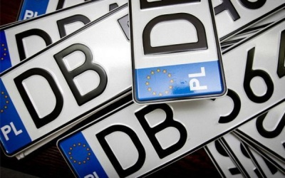 У ДФС назвали кількість незаконних автомобілів на єврономерах