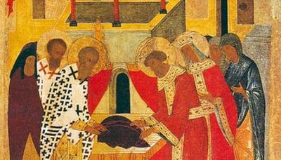 15 липня за церковним календарем - покладення чесної ризи Пресвятої Богородицi у Влахернi