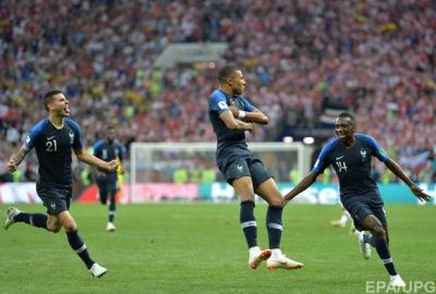 Франція стала чемпіоном світу з футболу-2018