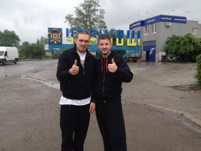 Усик припинив співпрацю із тренером з Чернівців