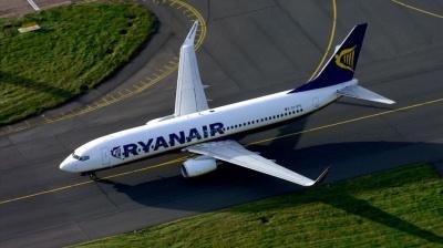 Ryanair відмінив рейси із трьох країн Європи через страйк бортпровідників