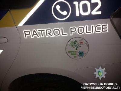 П'яний водій пошкодив службове авто патрульних: у поліції розповіли про інцидент у центрі Чернівців