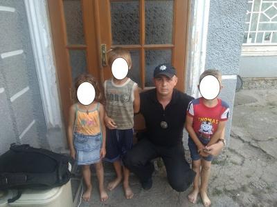 Пішли гуляти і загралися: поліцейські розповіли, як шукали трьох дітей у Глибокій