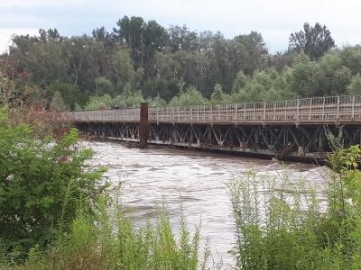 Стихія на Буковині: на мості у Маршинцях обмежили рух вантажівок