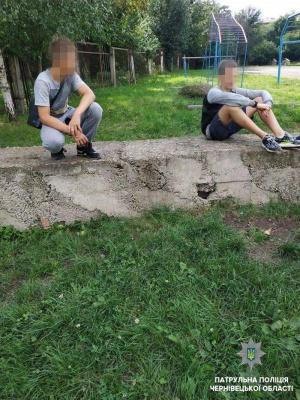 У Чернівцях поліція затримала трьох дітей, підозрюваних у грабежі