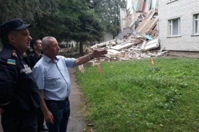 На Житомирщині обвалився гуртожиток аграрного технікуму