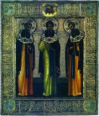 16 серпня за церковним календарем - преподобних Ісаакiя, Далмата i Фавста
