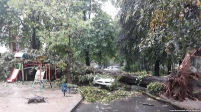 Негода на Буковині залишила без електрики 9 населених пунктів