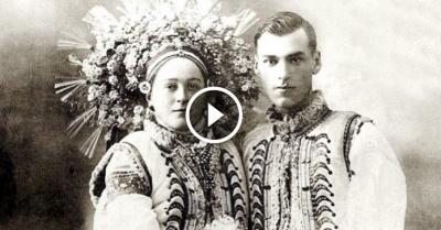 У мережі з'явилося відео буковинського весілля 1940 року