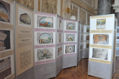 Дні єврейської культури: у ЧНУ показали настінні розписи синагог Буковини