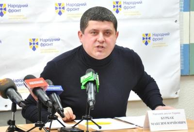 Бурбак заявив, що став опозицією до Чернівецької ОДА та міськради
