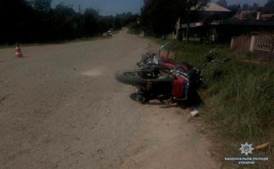 На Буковині п'яний мотоцикліст влетів у позашляховик