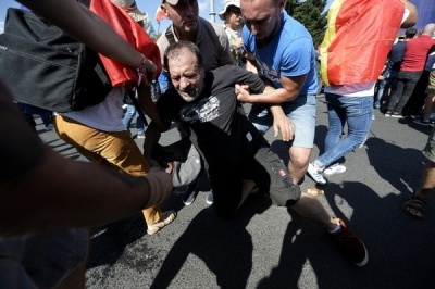 У Румунії десятки протестуючих постраждали в сутичці з поліцією