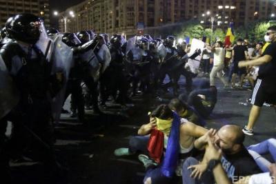 У Румунії кількість постраждалих під час протестів зросла до 440