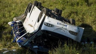 В Угорщині перекинувся мікроавтобус із українцями, 14 постраждалих