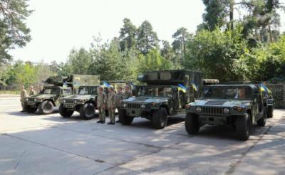 США передали Україні сучасну військову техніку - фото