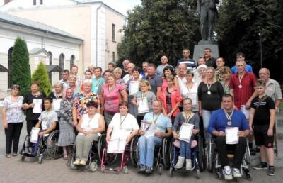 До Дня Незалежності на Буковині відбулася обласна спартакіада людей з інвалідністю