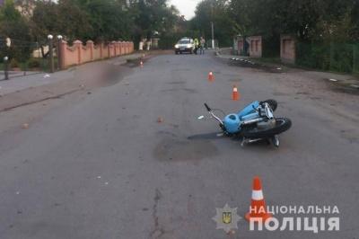 У Снятині в ДТП загинув 23-річний мотоцикліст із Буковини