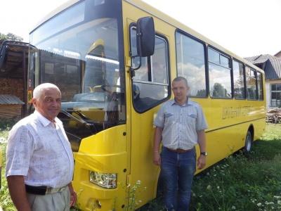 Община на Буковине приобрела за миллион школьный автобус