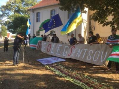 «Врятувати Олега Сенцова»: у Німеччині пікетували на підтримку політв'язня