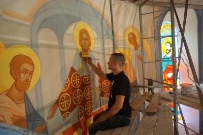 Главный собор УГКЦ Черновцов украсит уникальный канонический стенопись