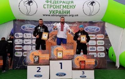 Атлет з Чернівців виборов «бронзу» на турнірі «Найсильніша людина України»